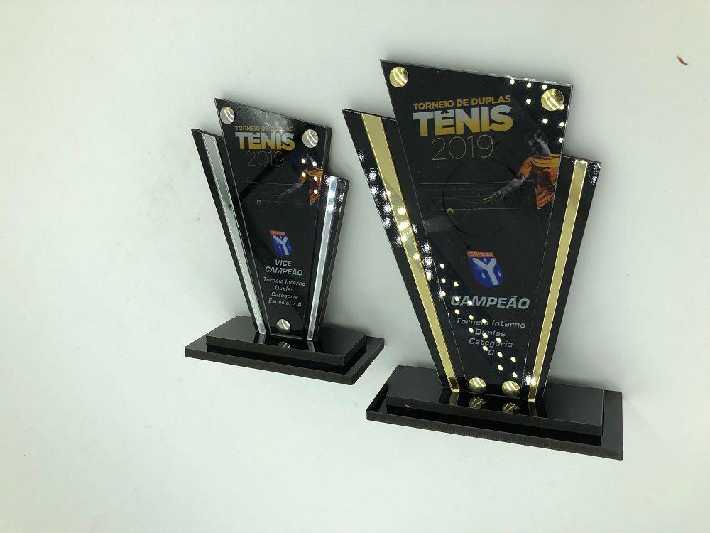 Troféu Personalizável TÊNIS 390 - Rigdom