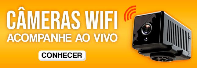 Câmeras Espiãs com Wi-Fi