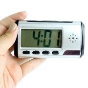 Relógio de Mesa com Câmera Espiã, Gravador de Voz, Sensor de Movimento, HD