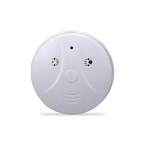 Alarme de Incêndio com Câmera Espiã HD e Sensor de Presença