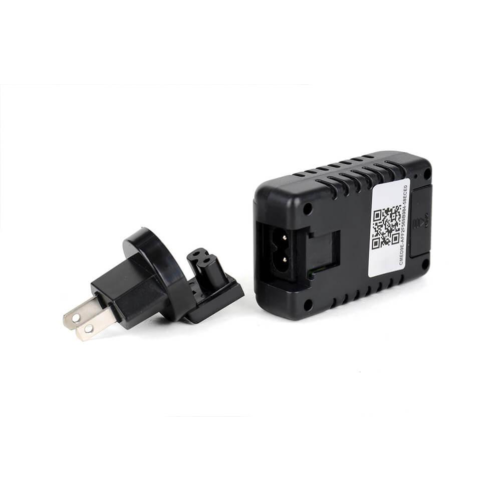 Carregador de Celular com Micro Câmera Espiã com Wi-Fi