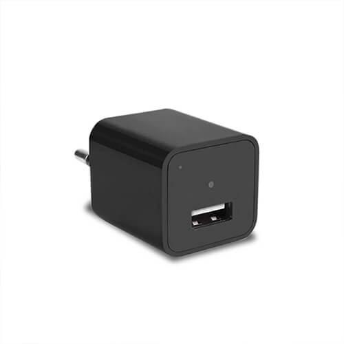 Carregador Espião com Câmera Full HD e Sensor de Presença