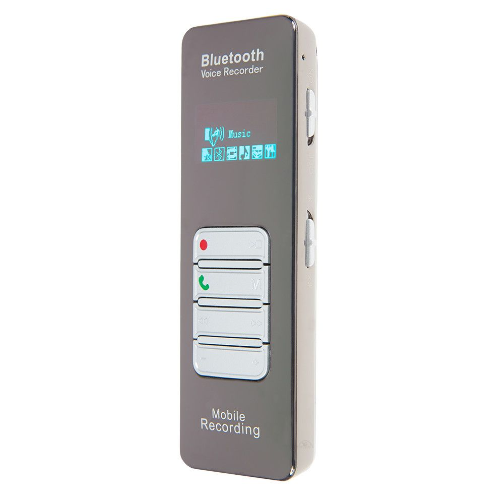 Gravador de Chamada para Telefone Fixo e Telefone Móvel com Microfone Externo  - Empório Forte