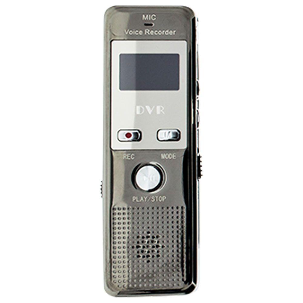 Gravador de Chamada para Telefone Fixo e Telefone Móvel com Sensor de Voz, Microfone Externo  - Empório Forte