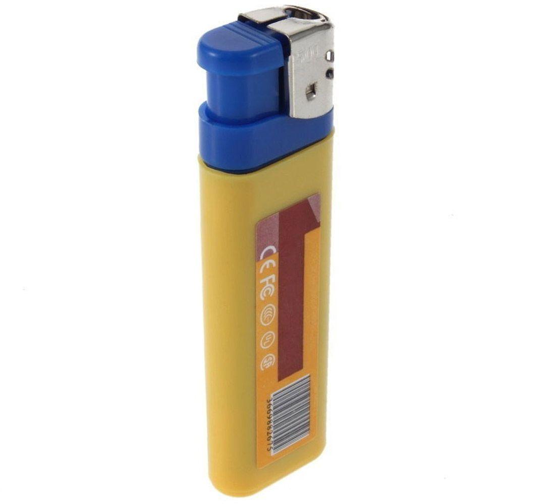 Isqueiro com Câmera Espiã, HD, Sensor de Áudio  - Empório Forte