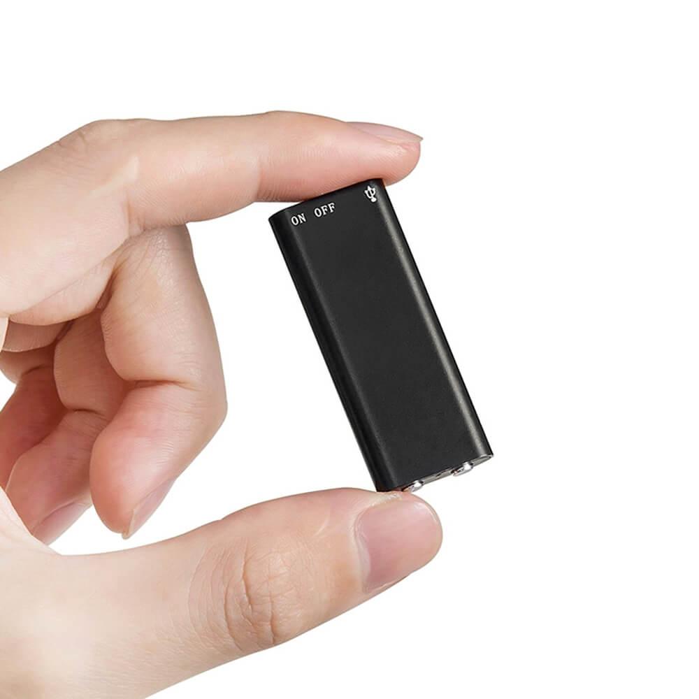 Micro Gravador de Voz Espião, Guarda 45 Horas