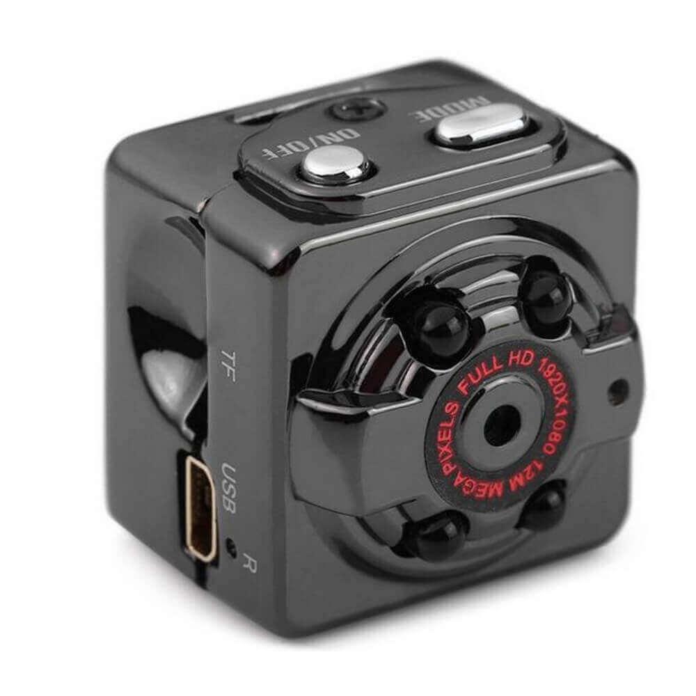 Mini Câmera Espiã com Visão Noturna e Sensor de Presença