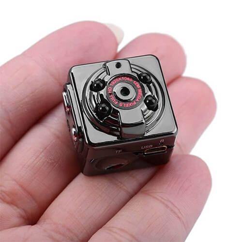 Mini Câmera Espiã com Sensor de Presença e Visão Noturna