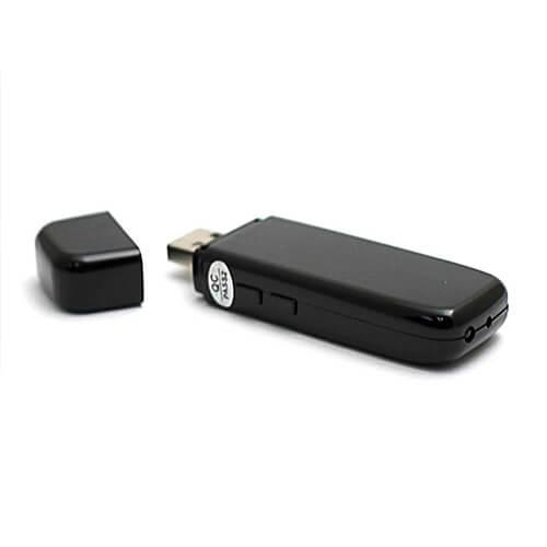 Pen Drive com Câmera Espiã HD e Visão Noturna