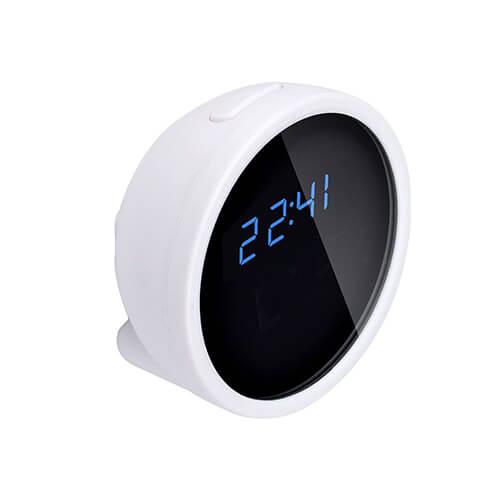 Relógio com Câmera Espiã WiFi e Sensor de Movimento
