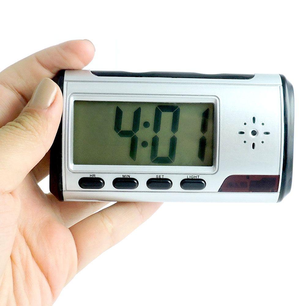 6d5cd705150 Relógio de Mesa com Câmera Espiã