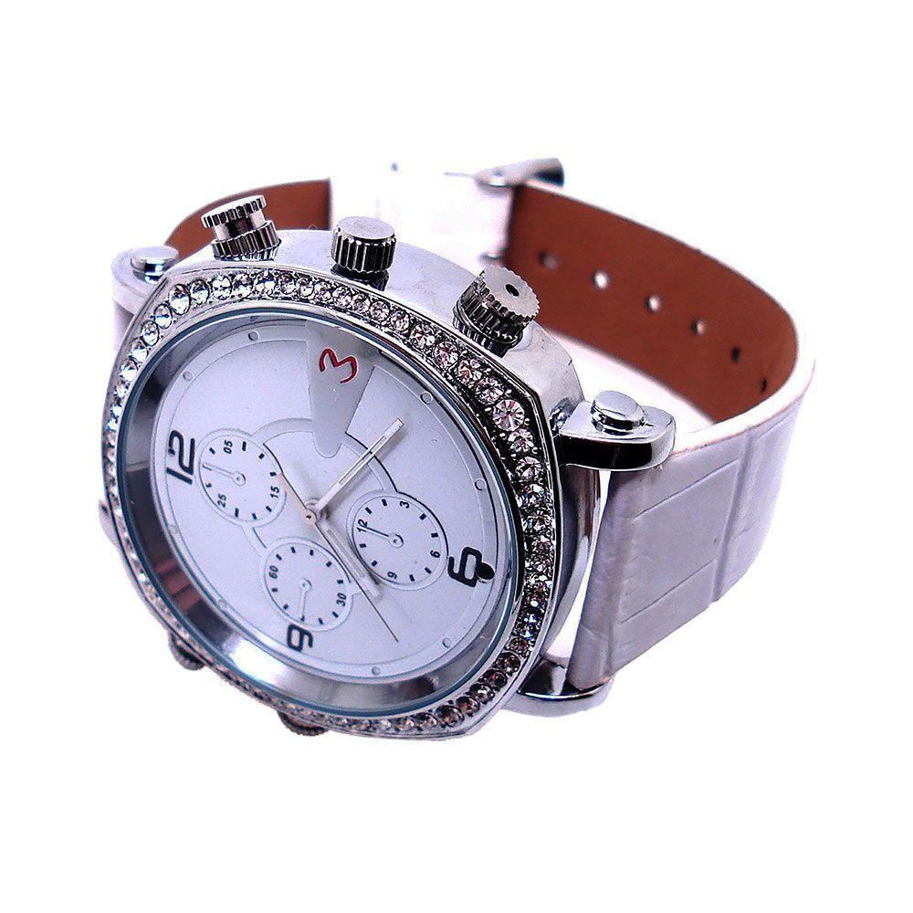 Relógio de Pulso Feminino com Câmera Espiã, Gravador de Voz, HD  - Empório Forte