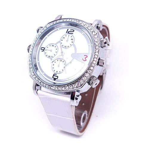 Relógio de Pulso Feminino com Câmera HD e Gravador de Voz