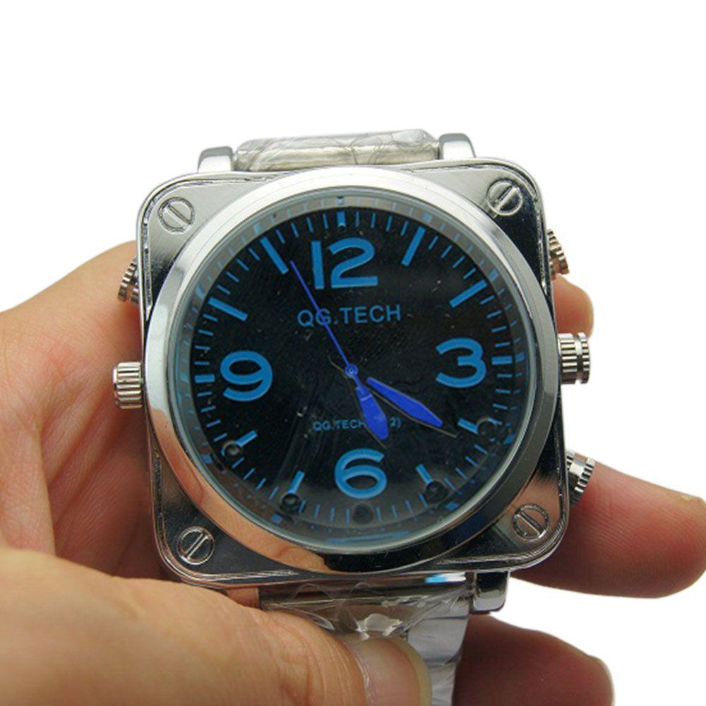 Relógio de Pulso Masculino com Câmera Espiã, Visão Noturna, Sensor de Áudio, Full HD  - Empório Forte