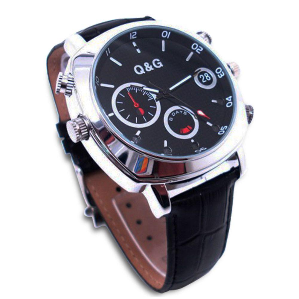 40be7094ad8 ... Full Relógio de Pulso Unissex com Câmera Espiã