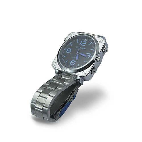 Relógio Masculino com Câmera Espiã Full HD, Visão Noturna e Sensor de Voz