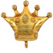 Balão Metalizado Coroa Grande