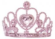 Coroa Princesa Rosada  - Infantil