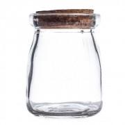 Pote de Vidro com Rolha  100 ml