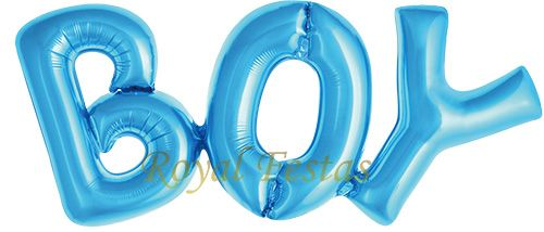 Balão Boy Azul