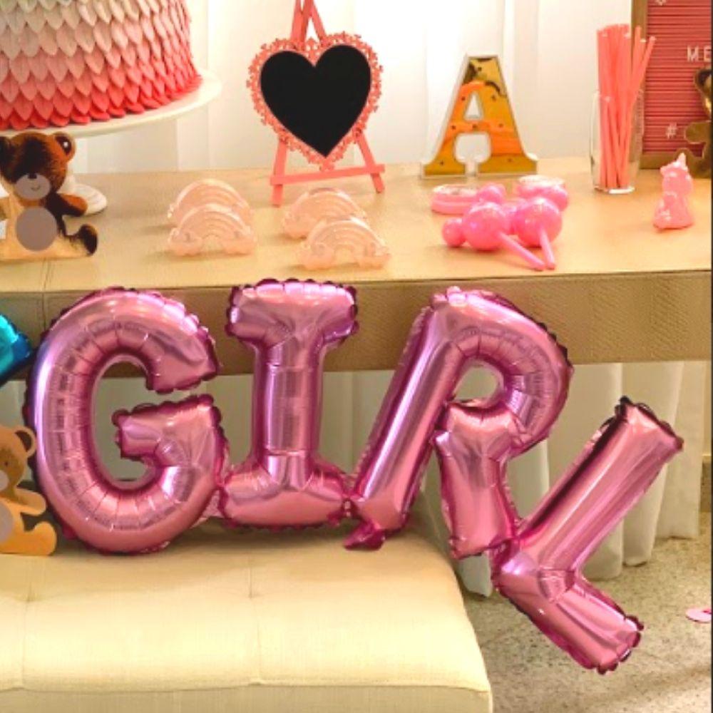 Balão Girl Rosa