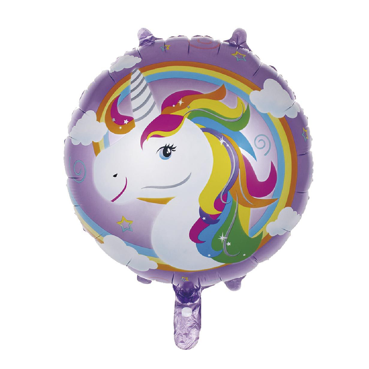 Balão Redondo Unicórnio