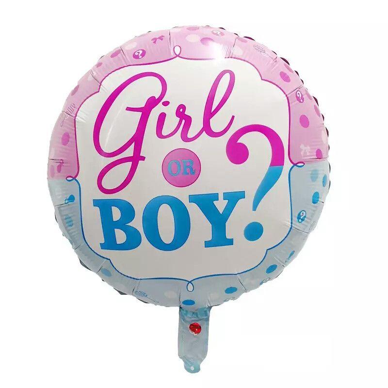 Balão Revelação Girl or Boy