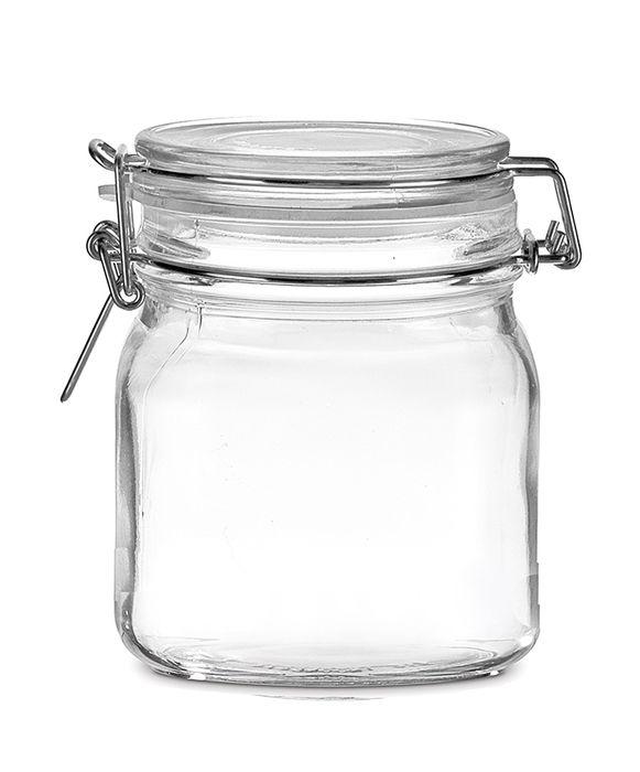 Frasco de Vidro com Tampa Hermética 100 ml