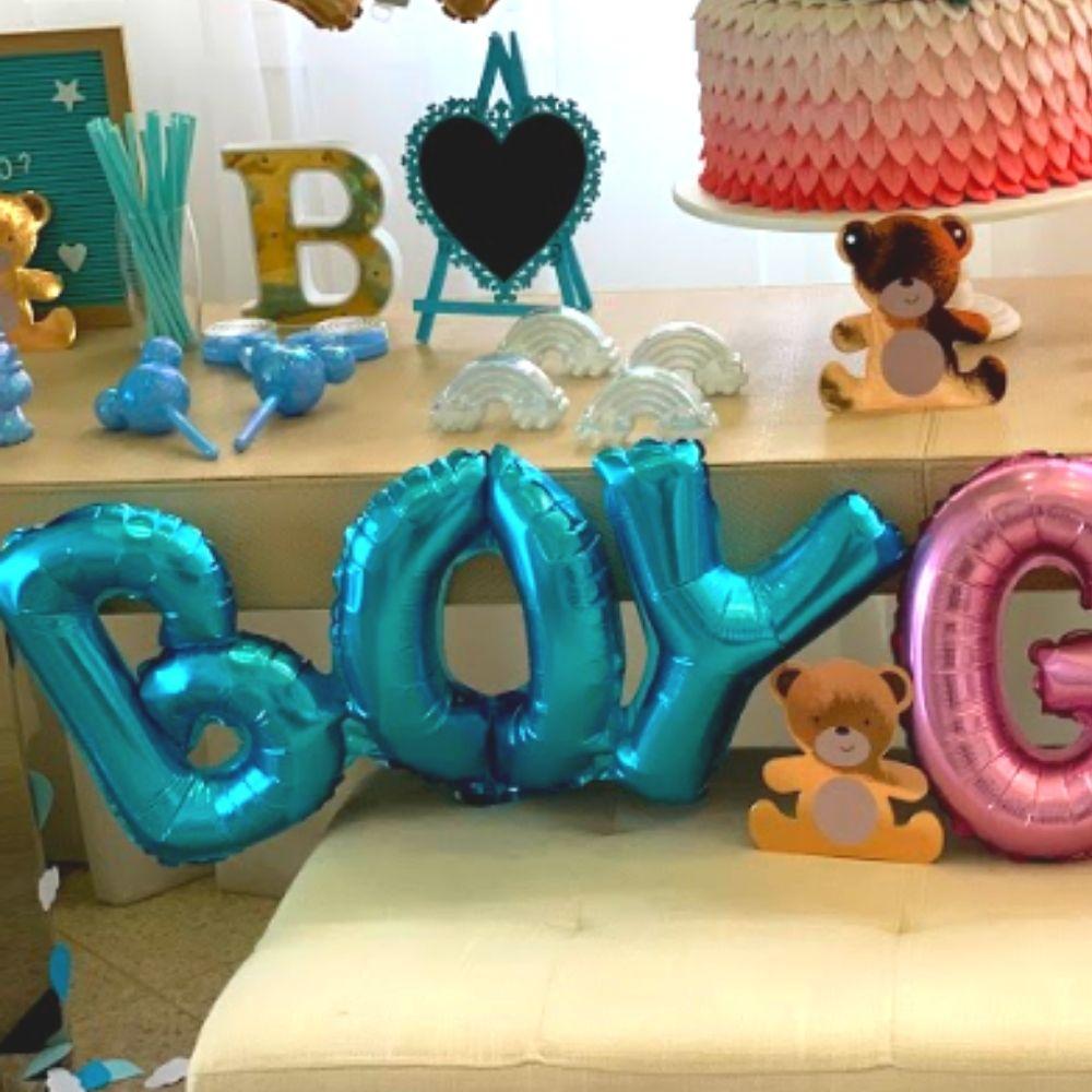 Kit Balões Chá de Revelação Especial com Balões Boy Girl