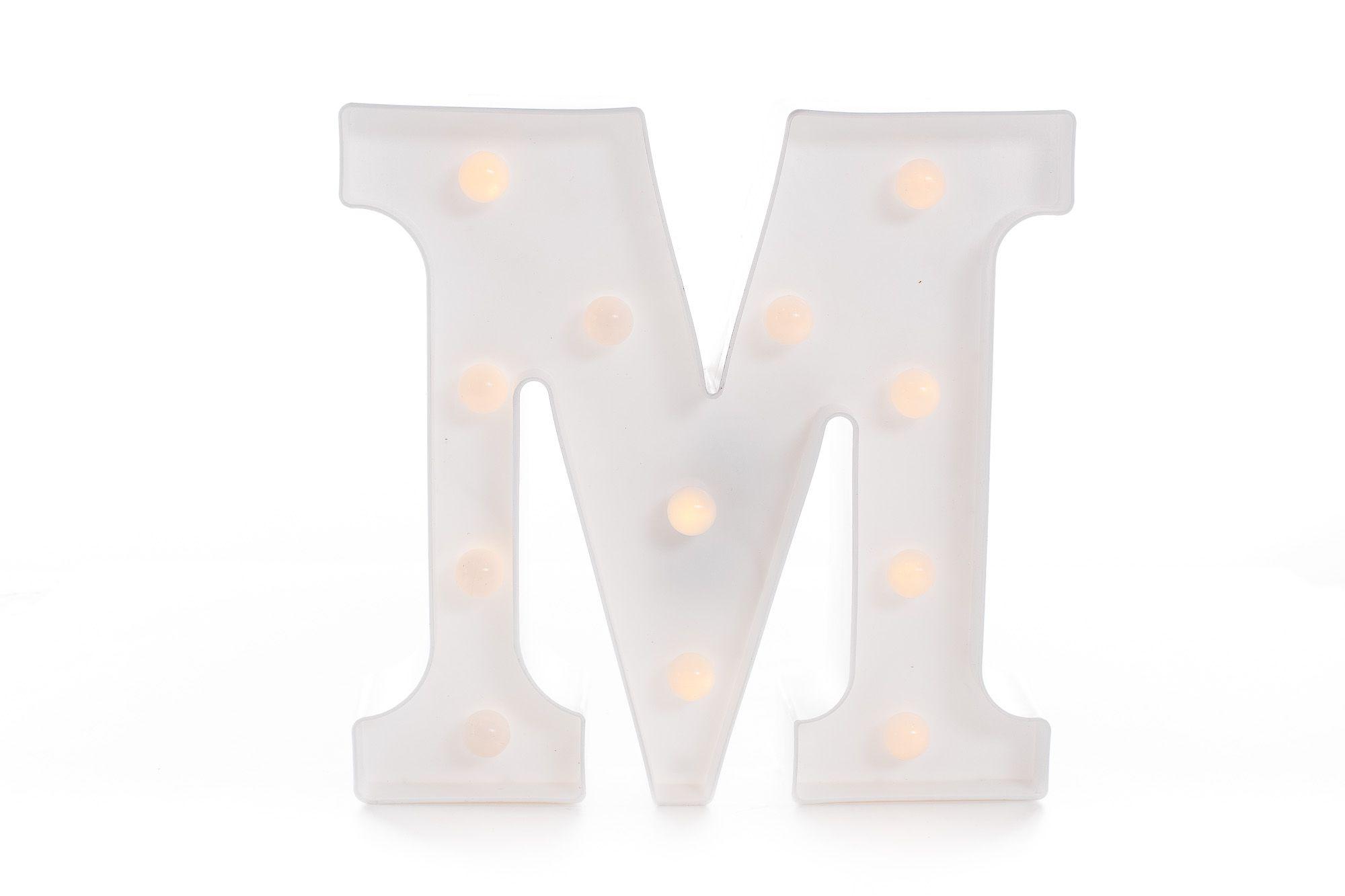 Letras Luminosas Led Branca