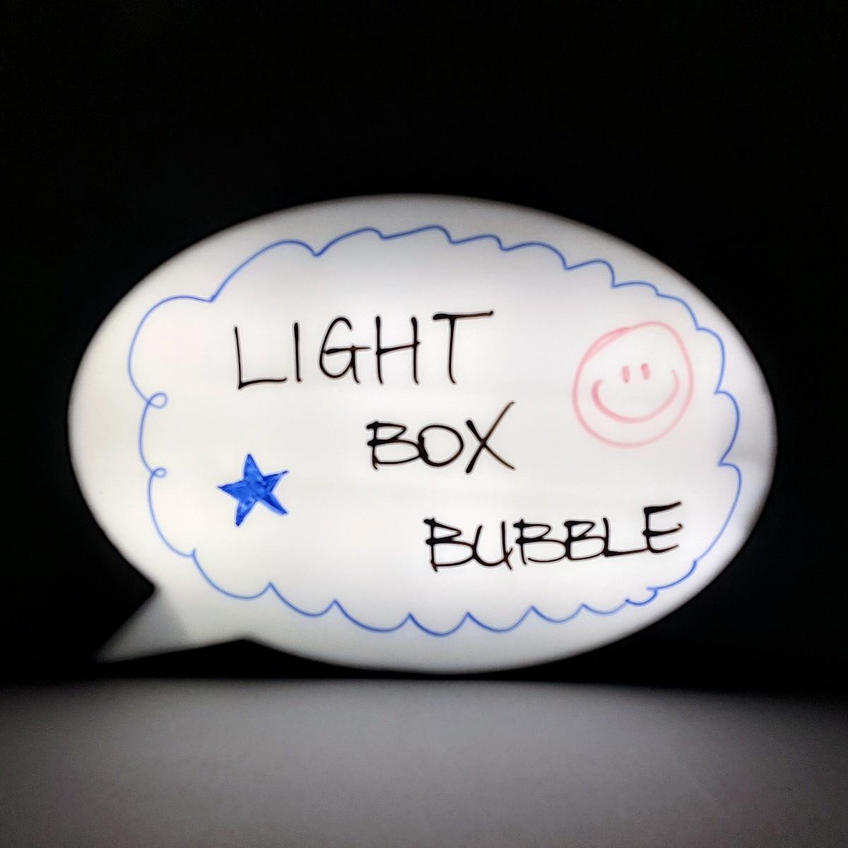 Luminária Balão de Fala
