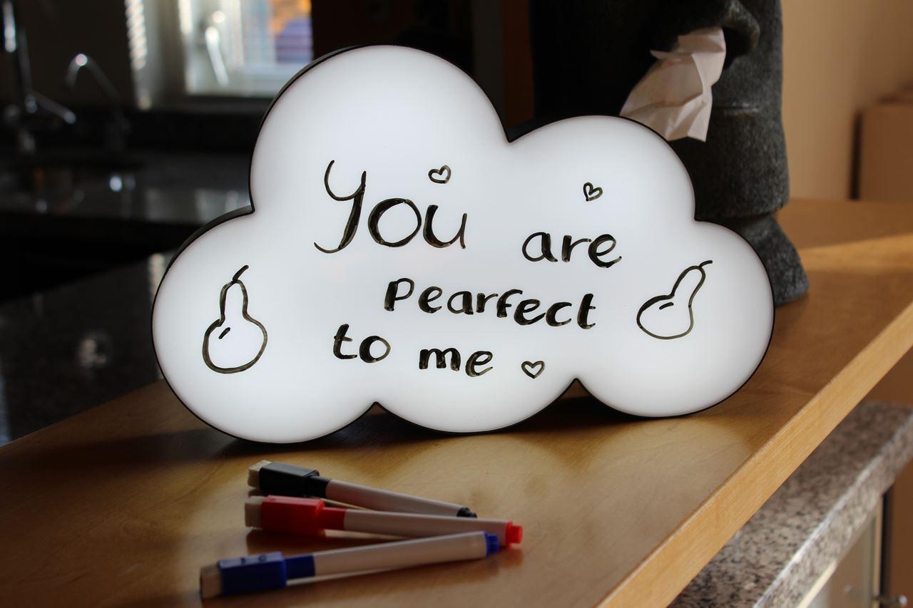 Luminária Balão De Fala Nuvem