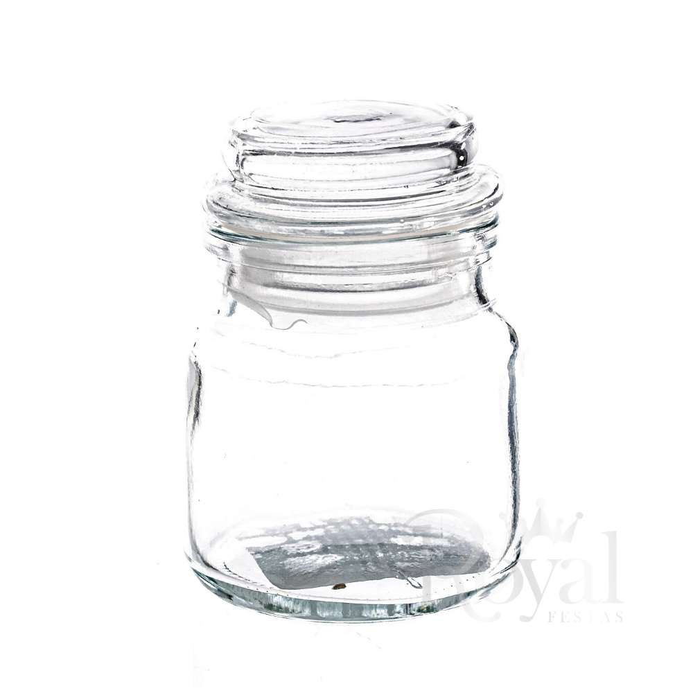 Pote de Vidro com Tampa Hermética Gominho 100 ml