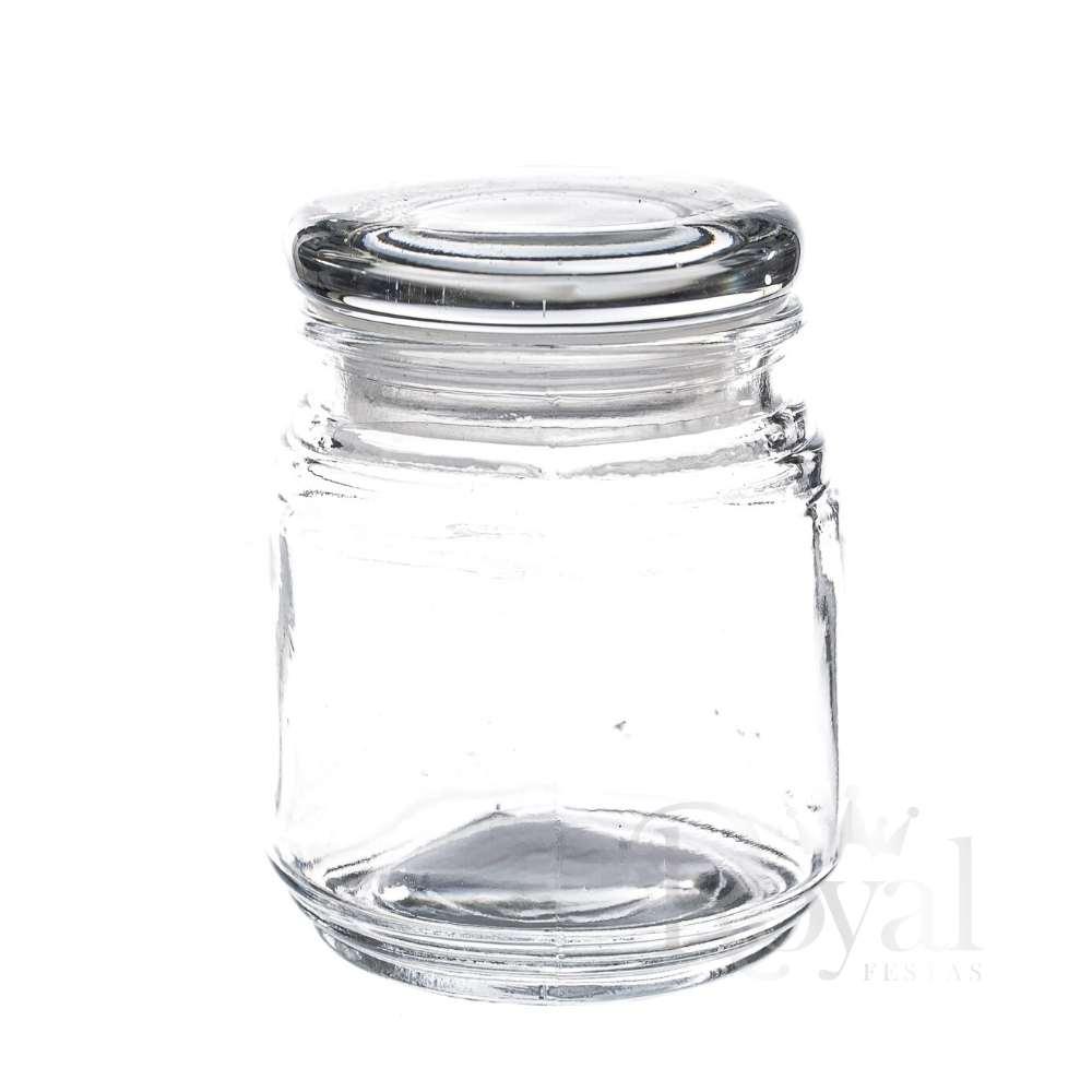 Pote de Vidro com Tampa Hermética Gominho 150 ml