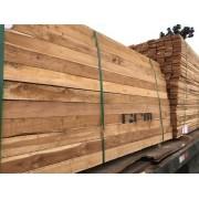 Madeira serrada TECA Seca em Estufa 2,5cmx10cm/15cm x 2,25m