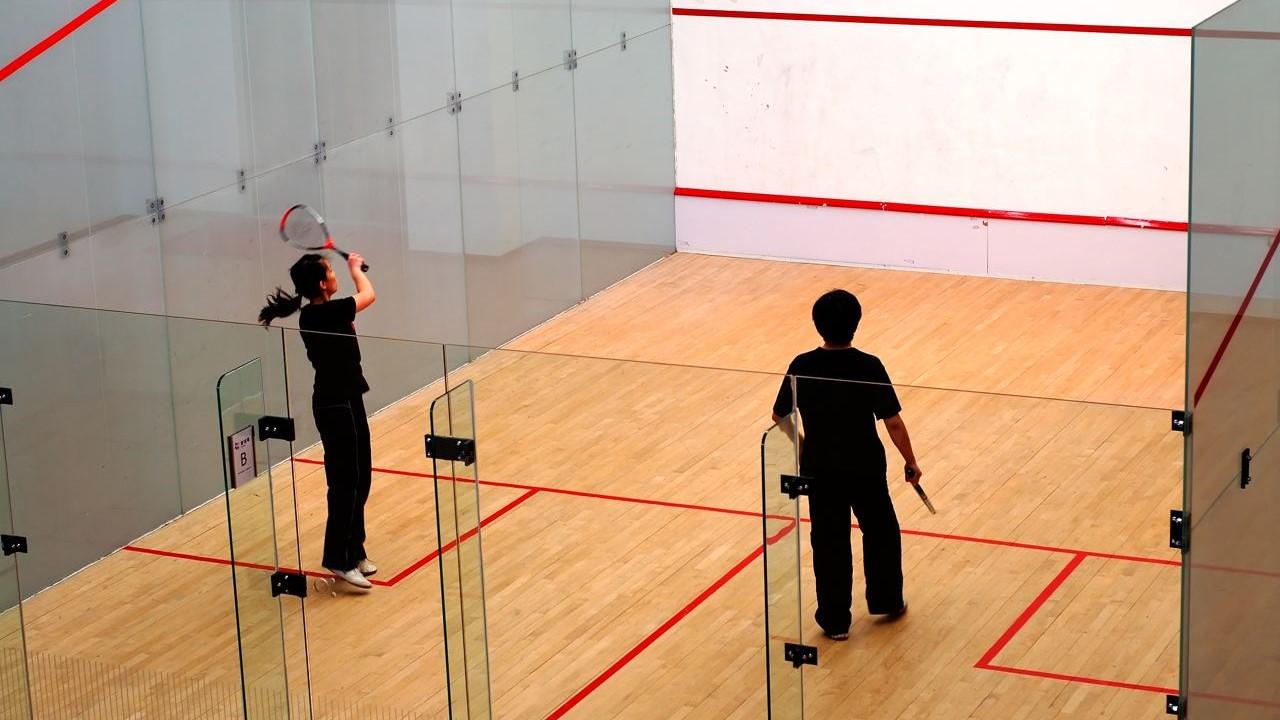 Assoalho Garapeira p/ quadra de Squash ou Poliesportiva TG4