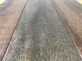 Assoalho Madeira Timborana Tingido - Piso Pronto 1,9cm x 8,2cm x 30cm à 2,10m