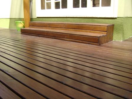Deck de Itauba 2cm x 7cm x 1,80m à 4m