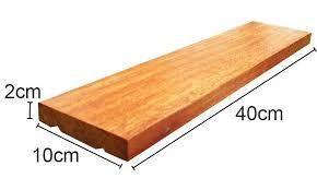 Taco de Cumaru 10cm x 20cm x 2cm