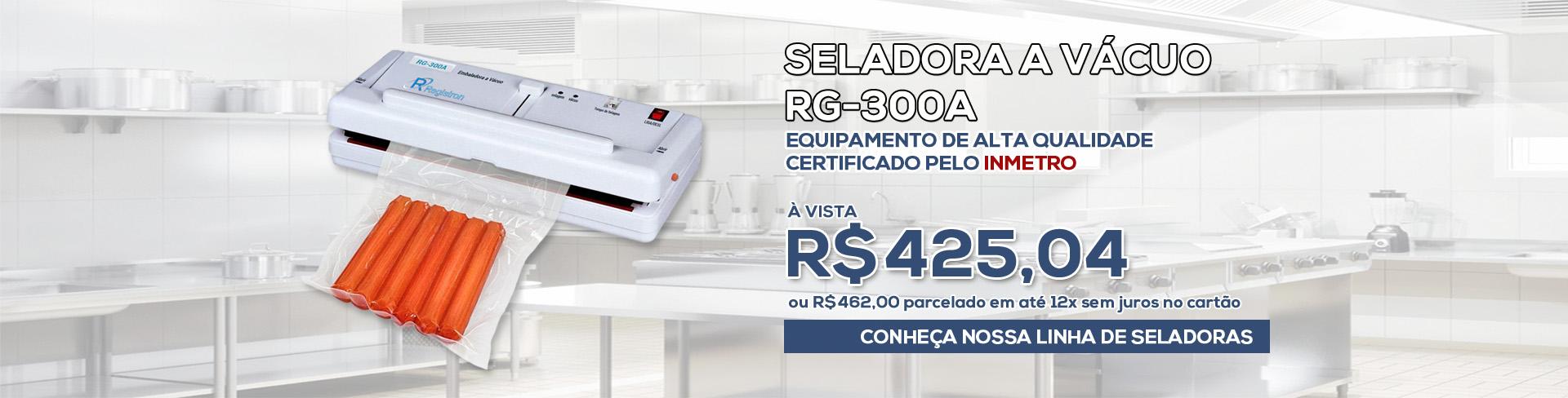 Seladora a Vácuo RG-300A