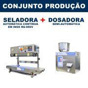 Dosadora e Seladora Automática (RG-F100 - RG-900V)