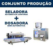 Dosadora e Seladora Automática (RG-FM100 - RG-900A)