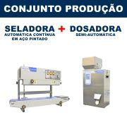Dosadora e Seladora Automática (RG-FZ500 - RG-900A vertical)