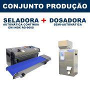 Dosadora e Seladora Automática (RG-FZ500 - RG-900S)