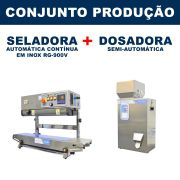 Dosadora e Seladora Automática (RG-FZ500 - RG-900V)