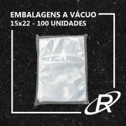 Embalagens a Vácuo lisa 15x22x12 - 100 und