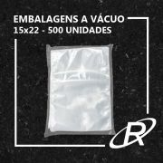 Embalagens a Vácuo lisa 15x22x12 - 500 und