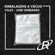 Embalagens a Vácuo lisa 15x25x12 - 1000 und