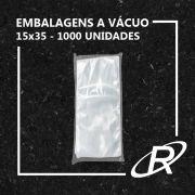 Embalagens a Vácuo lisa 15x35x12 - 1000 und