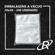Embalagens a Vácuo lisa 20x30x12 - 100 und